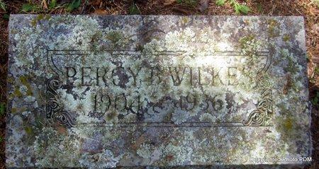 WILKES, PERCY B - Le Flore County, Oklahoma   PERCY B WILKES - Oklahoma Gravestone Photos