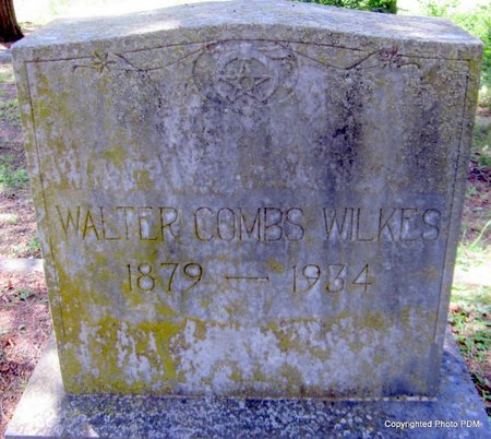 WILKES, WALTER COMBS - Le Flore County, Oklahoma   WALTER COMBS WILKES - Oklahoma Gravestone Photos