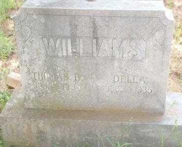 WILLIAMS, DELLA - Le Flore County, Oklahoma | DELLA WILLIAMS - Oklahoma Gravestone Photos