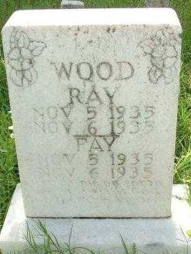 WOOD, FAY - Le Flore County, Oklahoma | FAY WOOD - Oklahoma Gravestone Photos