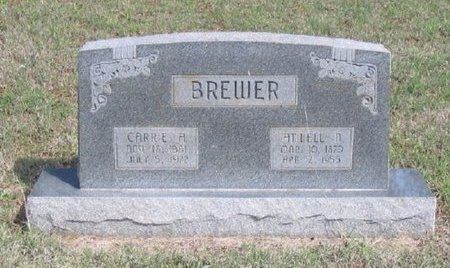 PATTEN BREWER, CARRIE ANN - Lincoln County, Oklahoma | CARRIE ANN PATTEN BREWER - Oklahoma Gravestone Photos