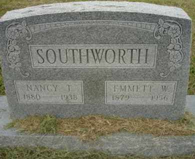 SOUTHWORTH, EMMIT W - Lincoln County, Oklahoma | EMMIT W SOUTHWORTH - Oklahoma Gravestone Photos