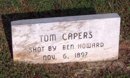 CAPERS, TOM - Logan County, Oklahoma | TOM CAPERS - Oklahoma Gravestone Photos