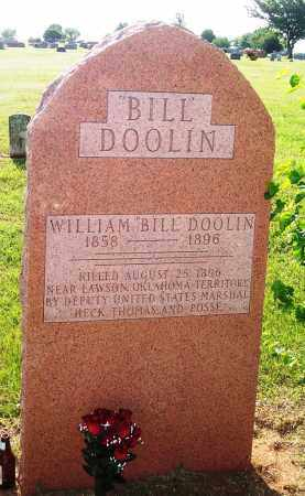 "DOOLIN, WILLIAM ""BILL"" (FAMOUS) - Logan County, Oklahoma 