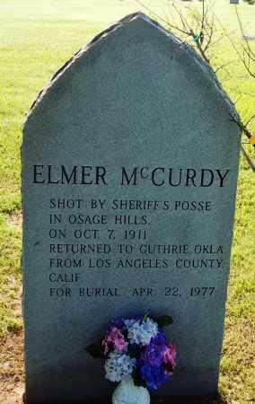 MCCURDY, ELMER (FAMOUS) - Logan County, Oklahoma | ELMER (FAMOUS) MCCURDY - Oklahoma Gravestone Photos