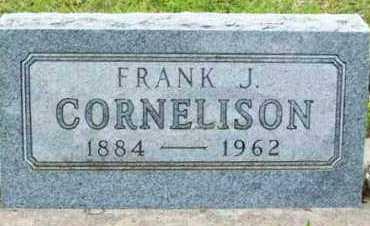CORNELISON, FRANK J - Marshall County, Oklahoma | FRANK J CORNELISON - Oklahoma Gravestone Photos