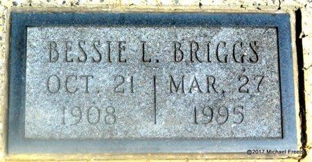 BRIGGS, BESSIE L. - Mayes County, Oklahoma | BESSIE L. BRIGGS - Oklahoma Gravestone Photos