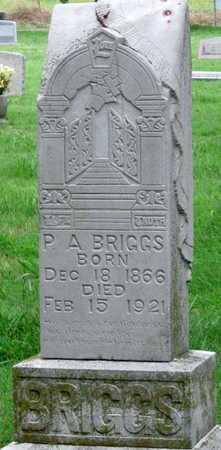 BRIGGS, PETER AUSMUSS - Mayes County, Oklahoma | PETER AUSMUSS BRIGGS - Oklahoma Gravestone Photos