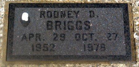 BRIGGS, RODNEY D. - Mayes County, Oklahoma | RODNEY D. BRIGGS - Oklahoma Gravestone Photos