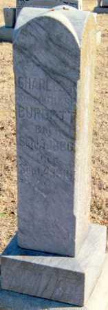 BURDETT, CHARLES R - Mayes County, Oklahoma | CHARLES R BURDETT - Oklahoma Gravestone Photos