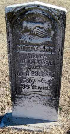 CARVER, KITTY ANN - Mayes County, Oklahoma | KITTY ANN CARVER - Oklahoma Gravestone Photos