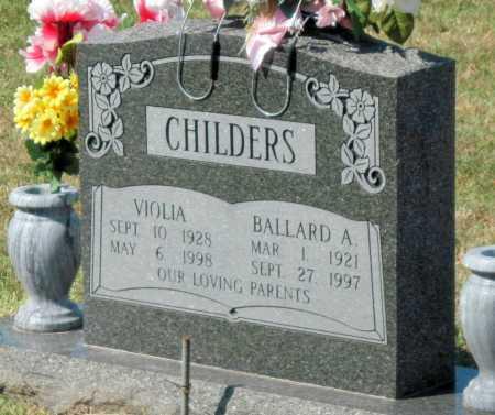 CHILDERS, VIOLIA - Mayes County, Oklahoma | VIOLIA CHILDERS - Oklahoma Gravestone Photos