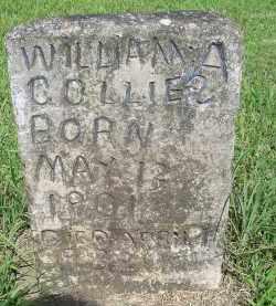 COLLIER, WILLIAM L - Mayes County, Oklahoma   WILLIAM L COLLIER - Oklahoma Gravestone Photos