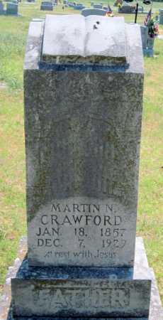 CRAWFORD, MARTIN N - Mayes County, Oklahoma | MARTIN N CRAWFORD - Oklahoma Gravestone Photos