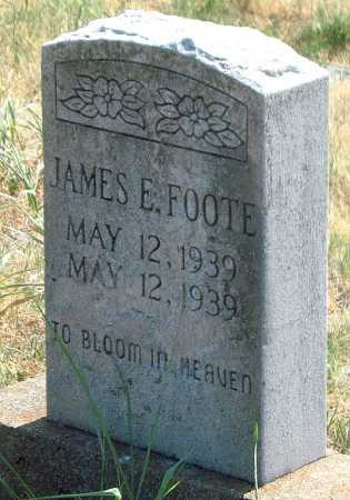 FOOTE, JAMES E - Mayes County, Oklahoma   JAMES E FOOTE - Oklahoma Gravestone Photos