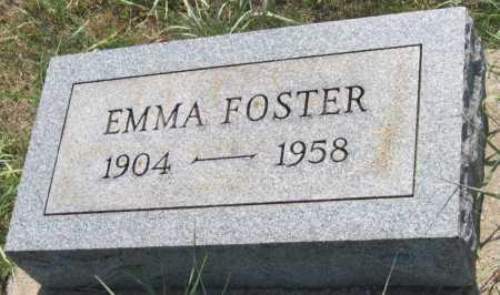 FOSTER, EMMA - Mayes County, Oklahoma   EMMA FOSTER - Oklahoma Gravestone Photos