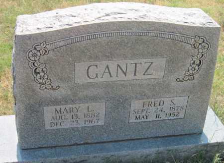 GANTZ, FRED S - Mayes County, Oklahoma   FRED S GANTZ - Oklahoma Gravestone Photos