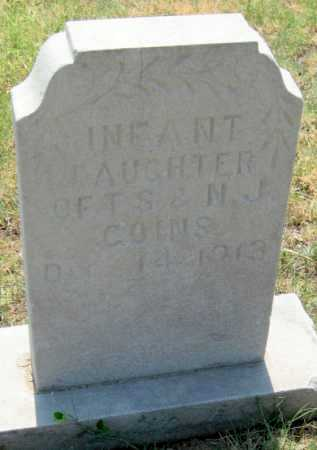 GOINS, INFANT DAUGHTER - Mayes County, Oklahoma | INFANT DAUGHTER GOINS - Oklahoma Gravestone Photos