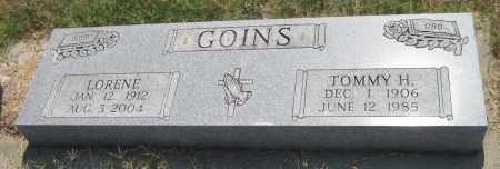 GOINS, TOMMY H - Mayes County, Oklahoma | TOMMY H GOINS - Oklahoma Gravestone Photos