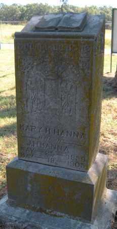 HANNA, MARY H - Mayes County, Oklahoma   MARY H HANNA - Oklahoma Gravestone Photos