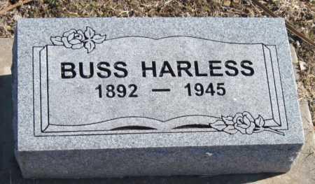HARLESS, BUSS - Mayes County, Oklahoma   BUSS HARLESS - Oklahoma Gravestone Photos