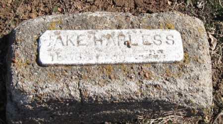HARLESS, JAKE - Mayes County, Oklahoma | JAKE HARLESS - Oklahoma Gravestone Photos