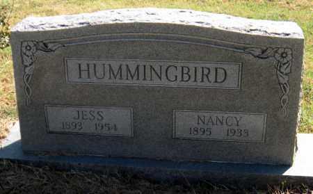 HUMMINGBIRD, JESS - Mayes County, Oklahoma   JESS HUMMINGBIRD - Oklahoma Gravestone Photos