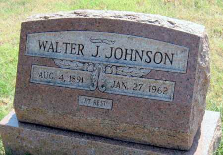 JOHNSON, WALTER JULIUS - Mayes County, Oklahoma | WALTER JULIUS JOHNSON - Oklahoma Gravestone Photos