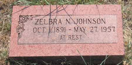 JOHNSON, ZELBRA NOAH - Mayes County, Oklahoma | ZELBRA NOAH JOHNSON - Oklahoma Gravestone Photos