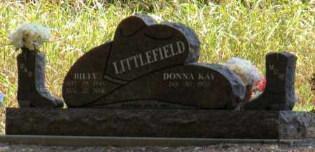 LITTLEFIELD, BILLY - Mayes County, Oklahoma | BILLY LITTLEFIELD - Oklahoma Gravestone Photos