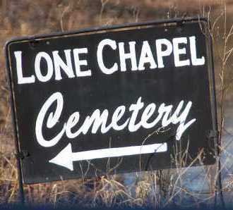 *, LONE CHAPEL CEMETERY SIGNAGE - Mayes County, Oklahoma | LONE CHAPEL CEMETERY SIGNAGE * - Oklahoma Gravestone Photos