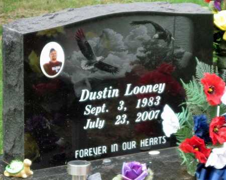 LOONEY, DUSTIN - Mayes County, Oklahoma | DUSTIN LOONEY - Oklahoma Gravestone Photos