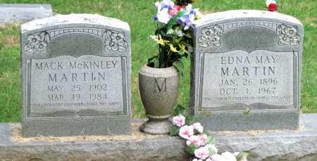 MARTIN, EDNA MAY - Mayes County, Oklahoma | EDNA MAY MARTIN - Oklahoma Gravestone Photos