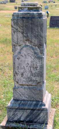 ROGERS MARTIN, NANCY ELLEN - Mayes County, Oklahoma | NANCY ELLEN ROGERS MARTIN - Oklahoma Gravestone Photos