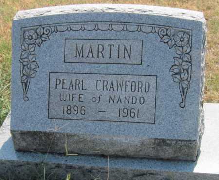 MARTIN, PEARL - Mayes County, Oklahoma | PEARL MARTIN - Oklahoma Gravestone Photos