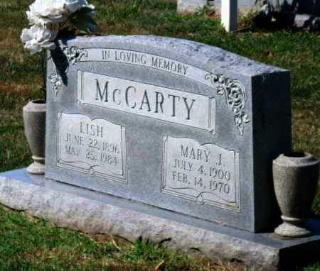 MCCARTY, MARY J - Mayes County, Oklahoma | MARY J MCCARTY - Oklahoma Gravestone Photos