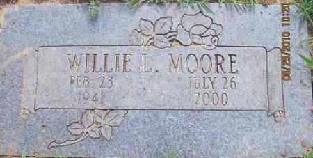 MOORE, WILLIE LEE - Mayes County, Oklahoma   WILLIE LEE MOORE - Oklahoma Gravestone Photos