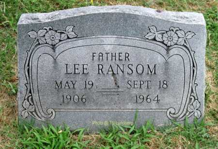 RANSOM, LEE - Mayes County, Oklahoma | LEE RANSOM - Oklahoma Gravestone Photos