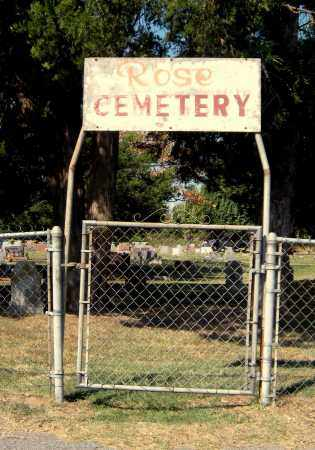 *ROSE SIGN, . - Mayes County, Oklahoma | . *ROSE SIGN - Oklahoma Gravestone Photos