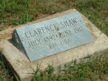 SHAW (VETERAN), CLARENCE - Mayes County, Oklahoma | CLARENCE SHAW (VETERAN) - Oklahoma Gravestone Photos