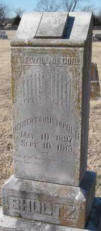 SHULTZ, HERBERT CHRISTOPHER - Mayes County, Oklahoma | HERBERT CHRISTOPHER SHULTZ - Oklahoma Gravestone Photos