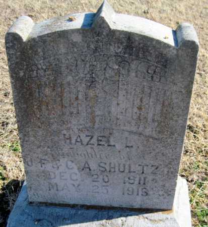 SHULTZ, HAZEL L - Mayes County, Oklahoma | HAZEL L SHULTZ - Oklahoma Gravestone Photos