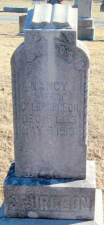 SPURGEON, NANCY - Mayes County, Oklahoma | NANCY SPURGEON - Oklahoma Gravestone Photos