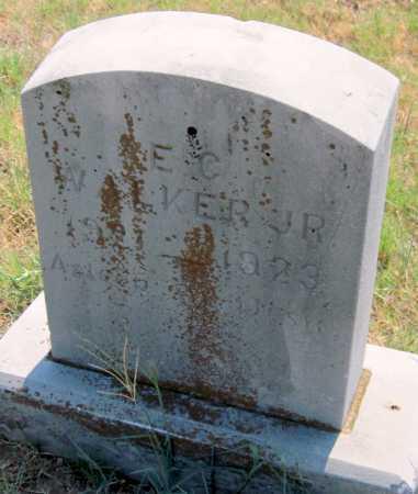 WALKER, E. C., JR - Mayes County, Oklahoma | E. C., JR WALKER - Oklahoma Gravestone Photos