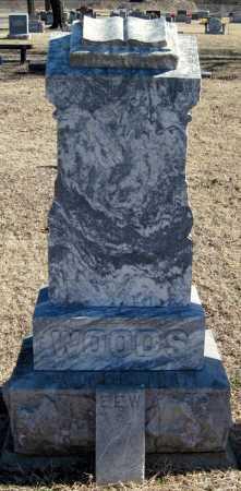 WOODS, ELVIN E. - Mayes County, Oklahoma   ELVIN E. WOODS - Oklahoma Gravestone Photos