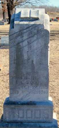 WOODS, JOHN W. - Mayes County, Oklahoma | JOHN W. WOODS - Oklahoma Gravestone Photos