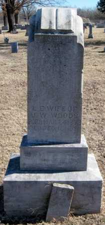 WOODS, L. E. - Mayes County, Oklahoma | L. E. WOODS - Oklahoma Gravestone Photos