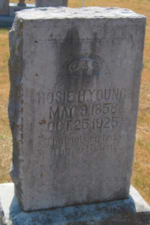 "YOUNG, HOSEA HALCOM ""HOSIE H"" - Mayes County, Oklahoma   HOSEA HALCOM ""HOSIE H"" YOUNG - Oklahoma Gravestone Photos"