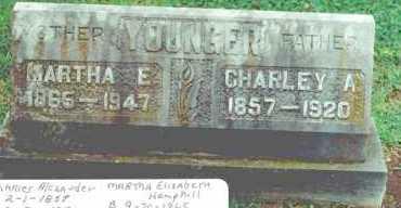 HEMPHILL YOUNGER, MARTHA ELIZABETH - Mayes County, Oklahoma | MARTHA ELIZABETH HEMPHILL YOUNGER - Oklahoma Gravestone Photos