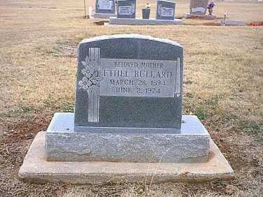 ANDERSON BULLARD, ETHEL MAY - McClain County, Oklahoma   ETHEL MAY ANDERSON BULLARD - Oklahoma Gravestone Photos